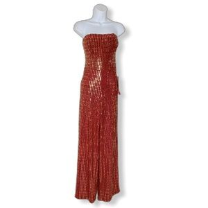 B. Smart new Jumpsuit red sequin size 7/8